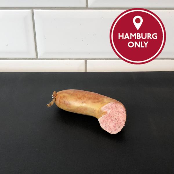 100g Leberwurst, grob (1/2 Ring)