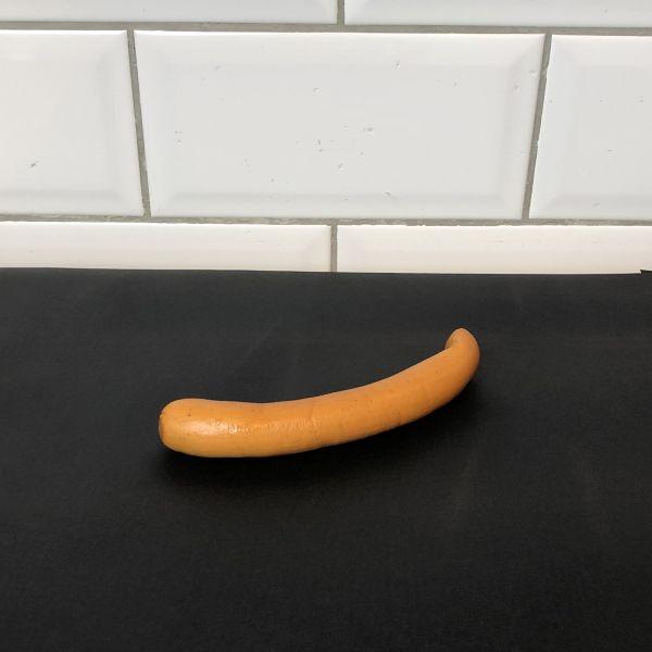 1 St. Geflügel Wiener Würstchen