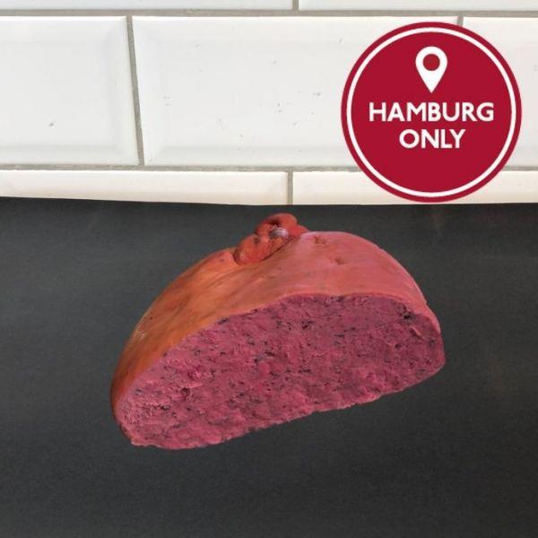 100g Leberwurst, grob